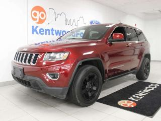 Used 2016 Jeep Grand Cherokee Laredo 4WD with power seats and push start/stop for sale in Edmonton, AB