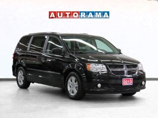 Used 2015 Dodge Grand Caravan Crew Leather Backup Cam DVD Player 7Pass for sale in Toronto, ON
