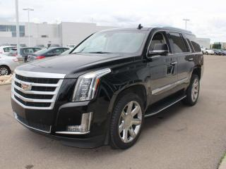 Used 2016 Cadillac Escalade 4WD LEATHER DVD 360 CAM SUNROOF HEADS UP DISPLAY for sale in Edmonton, AB