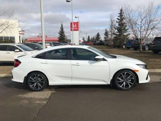 Used 2019 Honda Civic SI Sedan Si Navigation Sunroof Heated Seats for sale in Red Deer, AB