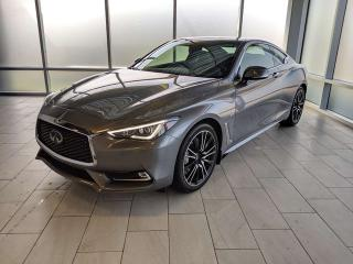New 2019 Infiniti Q60 3.0t SPORT 2dr AWD Coupe for sale in Edmonton, AB