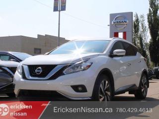 Used 2018 Nissan Murano PLATINUM l CPO l AWD l 360 Camera for sale in Edmonton, AB