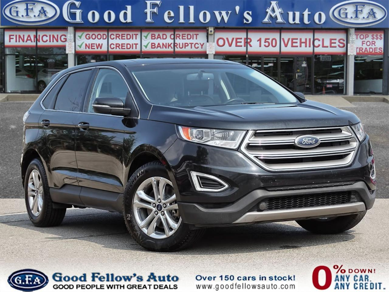 Used 2015 Ford Edge Sel Model Awd 4cyl Power Sunroof Navigation