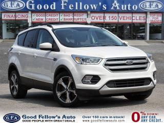 Used 2017 Ford Escape SE MODEL, 4CYL 1.5L, 4WD, REARVIEW CAMERA, NAVI for sale in Toronto, ON