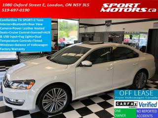 Used 2015 Volkswagen Passat Comfortline TSI SPORT+2 Tone+Camera+Leather+Roof for sale in London, ON