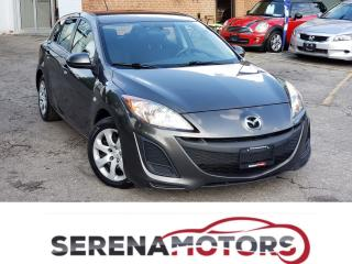 Used 2010 Mazda MAZDA3 GX | MANUAL | NO ACCIDENTS | LOW KM for sale in Mississauga, ON