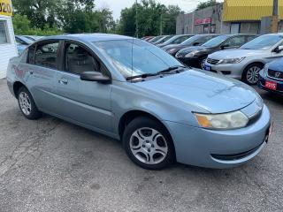 Used 2003 Saturn Ion AUTO/ POWER GROUP/ TINTED WINDOWS/ RUNS WELL! for sale in Scarborough, ON