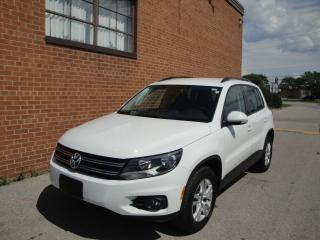 Used 2015 Volkswagen Tiguan 1 OWNER, NO ACCIDENT, 4 MOTION, 68k kms, for sale in Oakville, ON