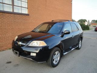 Used 2004 Acura MDX 7 passanger, Navi, leather DVD, Roof for sale in Oakville, ON