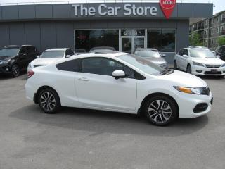 Used 2015 Honda Civic COUPE EX SUNROOF htd seat BLUETOOTH BACK CAMERA for sale in Winnipeg, MB