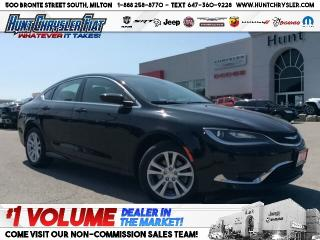 Used 2016 Chrysler 200 LIMITED | 8.4 | COMFORT | 2.4L | BT & MORE!!! for sale in Milton, ON