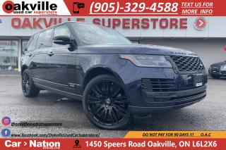 Used 2018 Land Rover Range Rover 5.0L V8 |SUPERCHARGED | LWB | DVD | NAVI | MASSAGE for sale in Oakville, ON