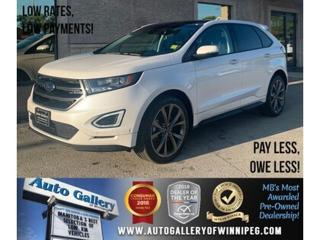 Used 2018 Ford Edge Sport *AWD/Htd Lthr/Pano/Navi/B.tooth/Back.Cam for sale in Winnipeg, MB