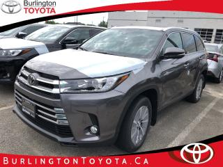 New 2019 Toyota Highlander XLE for sale in Burlington, ON