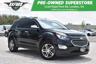 Used 2017 Chevrolet Equinox Premier - One Owner, Great Family Vehicle for sale in London, ON