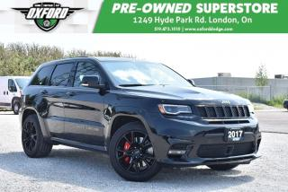Used 2017 Jeep Grand Cherokee SRT - One Owner, Luxury Performance Vehicle, Two S for sale in London, ON