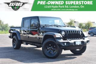 Used 2020 Jeep Gladiator Sport S 4x4 - Upgraded Tires and Rims, Best in Cla for sale in London, ON
