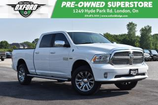 Used 2015 RAM 1500 Longhorn - One Owner, Well Equipped and Maintained for sale in London, ON