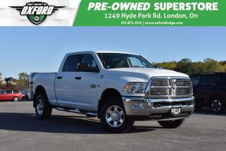 Used 2012 RAM 2500 SLT - One Owner, Weathertech Mats, GPS, UConnect for sale in London, ON