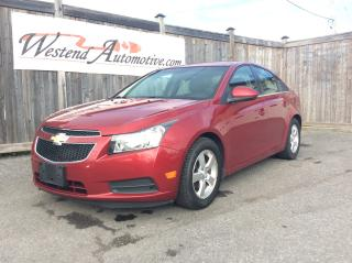 Used 2012 Chevrolet Cruze LT Turbo+ w/1SB for sale in Stittsville, ON