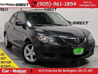 Used 2006 Mazda MAZDA3 GS| AS-TRADED| SUNROOF| ALLOYS| for sale in Burlington, ON