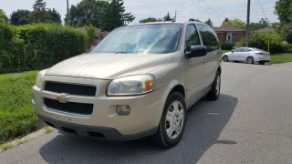 Used 2007 Chevrolet Uplander for sale in Scarborough, ON