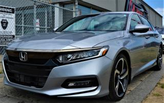 Used 2018 Honda Accord SPORT|PUSH START|HEATED SEATS|SUNROOF|APPLE CARPLAY for sale in Brampton, ON