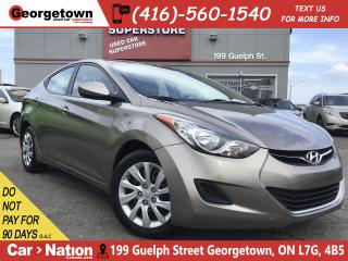 Used 2012 Hyundai Elantra GL   HEATED SEATS   BLUETOOTH   LOW KM   for sale in Georgetown, ON