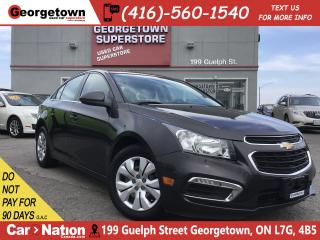 Used 2016 Chevrolet Cruze LT 1LT | BACK UP CAM | BLUETOOTH | 1.4L | for sale in Georgetown, ON