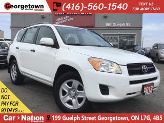 Used 2012 Toyota RAV4 4X4 | A/C | POWER OPTIONS | 2.5L 4CYL | for sale in Georgetown, ON