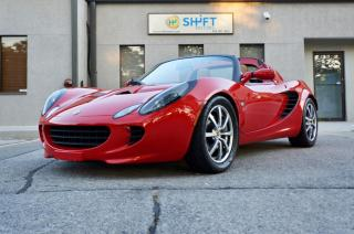 Used 2006 Lotus Elise SC SUPERCHARGED, TOURING PACK, GORGEOUS! for sale in Burlington, ON