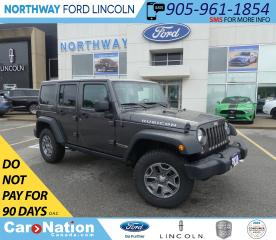 Used 2018 Jeep Wrangler Unlimited Rubicon | NAV | HTD SEATS | HARD TOP | for sale in Brantford, ON