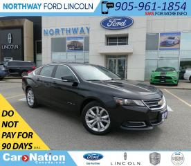 Used 2018 Chevrolet Impala LT | PUSH START | BACKUP CAM | REMOTE START | for sale in Brantford, ON