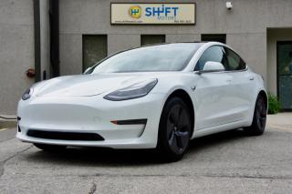 Used 2019 Tesla Model 3 STANDARD RANGE PLUS ENHANCED AP, AERO WHEELS for sale in Burlington, ON