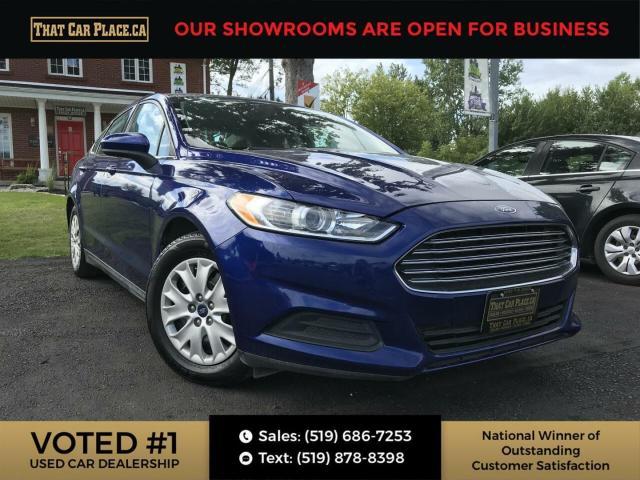 2013 Ford Fusion S Pwr Windows,Locks, Mirror-Cruise-A/C