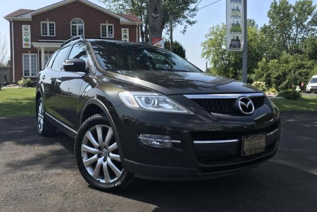 2009 Mazda CX-9 GT AWD-7 Pass-Htd Lthr Seats-Sunroof-Alloys-Bluetooth-BOSE Sound system