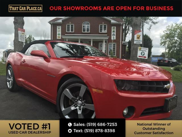 2011 Chevrolet Camaro LT Convertible-RS-Leather-Heads up Display