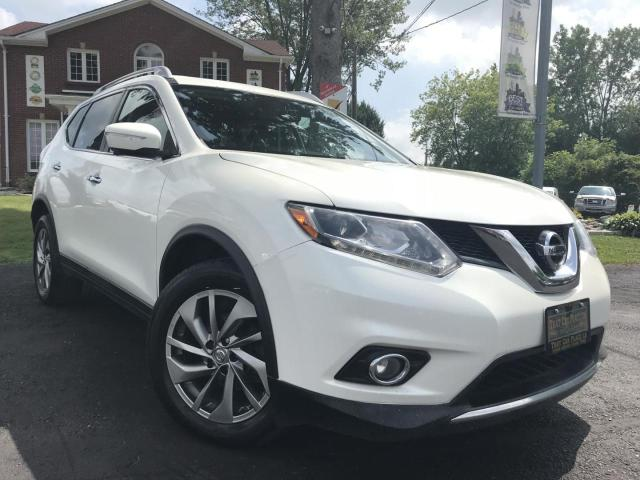 2015 Nissan Rogue SL AWD-PanoRoof-NAVI-Htd Lthr Seats-Pwr Liftgate-Bluetooth