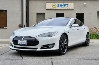Used 2013 Tesla Model S P85+ PERFORMANCE PLUS PACKAGE, CPO WARRANTY for sale in Burlington, ON