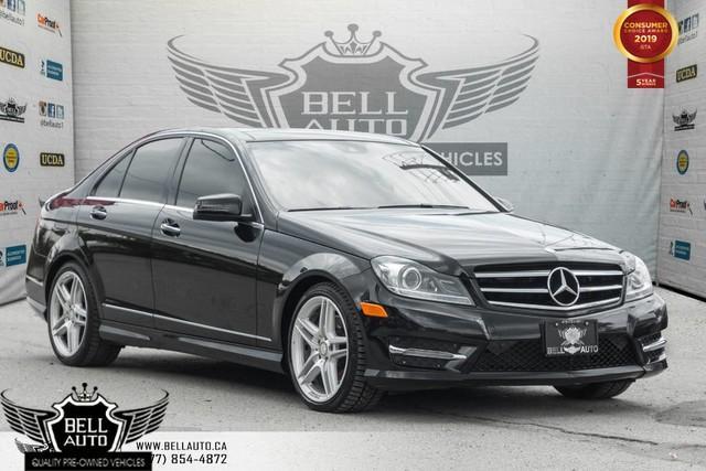 2014 Mercedes-Benz C-Class C 350, 4MATIC, NAVI, BACK-UP CAM, PANO ROOF, PUSH START