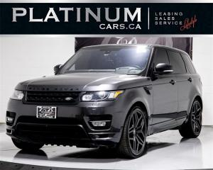 Used 2016 Land Rover Range Rover Sport Autobiography, Superchrg V8, NAVI, MERIDIAN, Pano for sale in Toronto, ON