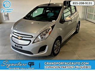 Used 2016 Chevrolet Spark EV 1LT *FAST CHARGE* *RABAIS GOUV. INCLUS* for sale in Rivière-Du-Loup, QC
