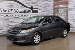 Used 2010 Toyota Corolla CE+AIR CLIM for sale in Laval, QC
