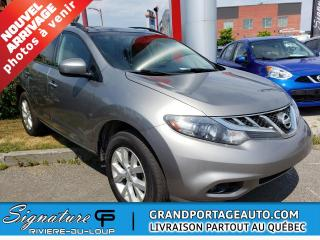 Used 2011 Nissan Murano *CLEAN* AWD* SV for sale in Rivière-Du-Loup, QC