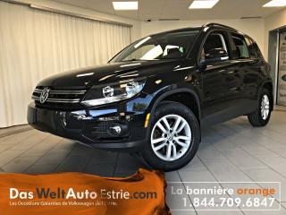 Used 2017 Volkswagen Tiguan Trend, Gr. Électrique, A/C, Automatique Bas Kilo! for sale in Sherbrooke, QC