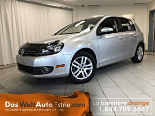 Used 2013 Volkswagen Golf 2.0 TDI Comfort, Automatique, Très Bas Kilo! for sale in Sherbrooke, QC