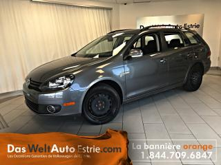 Used 2014 Volkswagen Golf Wagon 2.0 TDI Comfort, Automatique Bas Kilo! for sale in Sherbrooke, QC