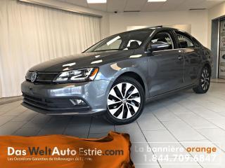 Used 2015 Volkswagen Jetta Gr. Électrique, A/C, Automatique for sale in Sherbrooke, QC