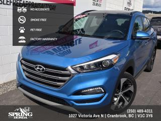 Used 2017 Hyundai Tucson SE FACTORY WARRANTY, NO ACCIDENTS, PET-FREE, SMOKE-FREE - $145 BI-WEEKLY - $0 DOWN for sale in Cranbrook, BC