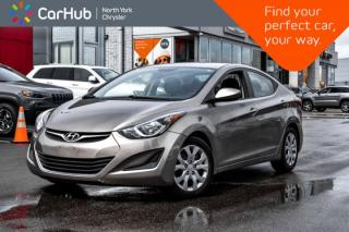 Used 2014 Hyundai Elantra GL Bluetooth SAT.Radio Heat.Frnt.Seats Voice.Command A/C  for sale in Thornhill, ON
